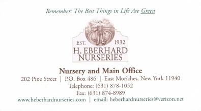 H .Eberhard Nurseries